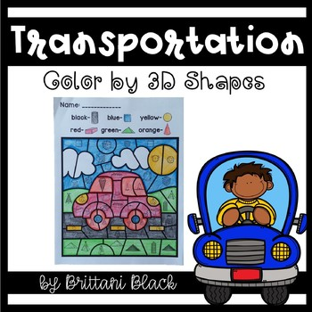 Transportation~ Color by Code