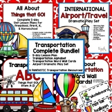 Transportation Complete Classroom Bundle for Preschool, PreK, K, & Homeschool!