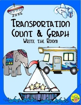 Transportation Count & Graph: Write the Room