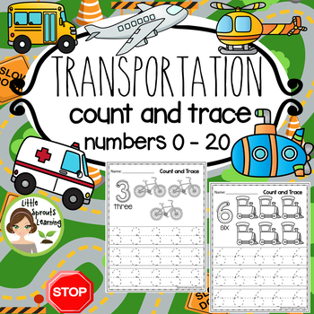 Transportation Count and Trace Numbers 1-20