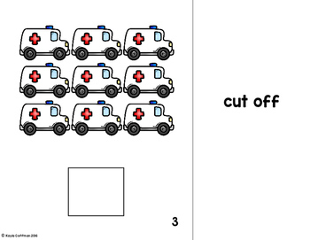 Transportation Count It Out Adapted Book