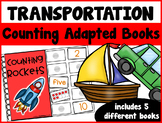Transportation Counting Adapted Books {set of 5 books) Pri