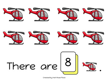 Transportation Counting Books (Adapted Books)