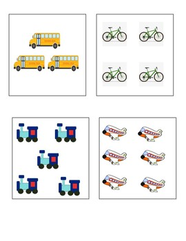 Transportation Counting Cube!