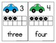 Transportation Counting Mats 1-20 with Cars