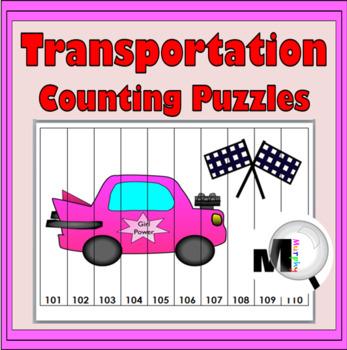 Number  Puzzles - Transportation Math