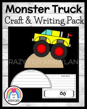 Transportation / Vehicle Craft and Writing: Monster Truck