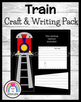 Transportation Craft and Writing: Train