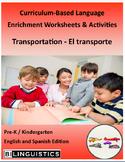 Transportation - Curriculum‐Based Language Enrichment Worksheets & Activities