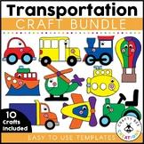 Transportation Crafts Bundle