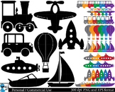 Transportation Digital Clip Art Graphics 56 images cod36