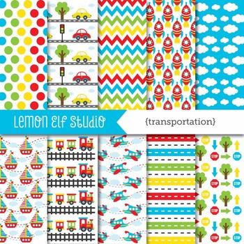 Transportation-Digital Paper (LES.DP01A)