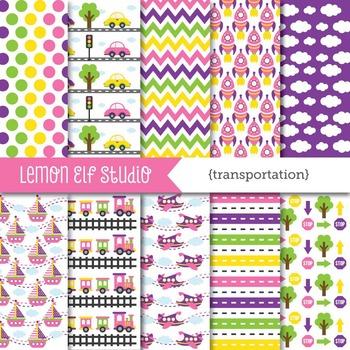 Transportation-Digital Paper (LES.DP01B)