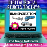 Transportation Digital Social Studies Toothy® Task Cards |