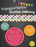 Transportation Direction Following