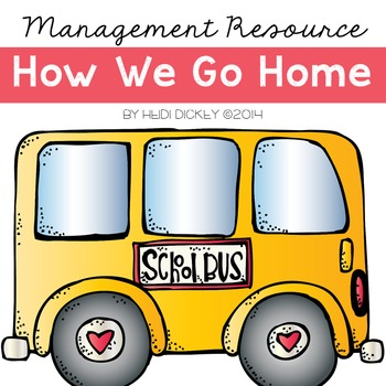 Transportation Display: How We Go Home-Editable Pages Included