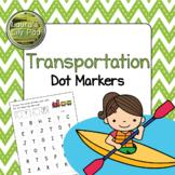 Transportation Dot Marker Center