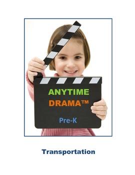 Transportation Dramatic Play, Imagination, Music, Art, Spa