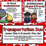 Transportation Duo! 5-Day Transportation Lesson Plan & Air