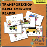Transportation Early Emergent Reader - Full Color Version