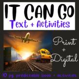 Transportation: Mini Book #3 (Fry Sight Words)
