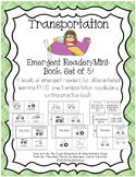 Transportation Emergent Reader & Mini-Books Set of 5!