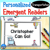 Transportation Emergent Readers