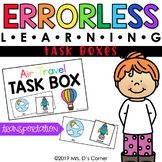 Transportation Errorless Learning Task Boxes (3 task boxes