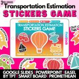 Transportation Estimation SMART BOARD Game - Common Core Aligned