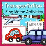 Transportation Fine Motor Activities -Transportation Activities