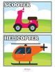 Transportation Flash Cards Instant Download PDF; Preschool, Kindergarten, School