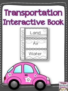 Transportation Interactive Booklet