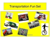 Transportation Fun Set (Common Core Aligned)