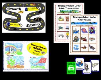 Transportation Game Set
