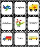Transportation Bingo Memory Match Domino Game Set