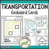 Transportation Geoboards: Shape Activity for Pre-K Math
