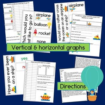 Transportation Graphs (Horizontal, Vertical and Pictographs!)