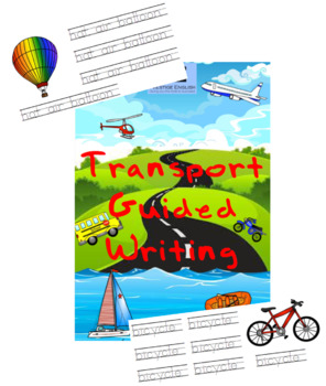 Transportation Guided Writing | Worksheets