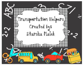 Transportation Helper