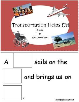 Transportation Helps Us!!