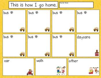 Transportation Home Record Sheet