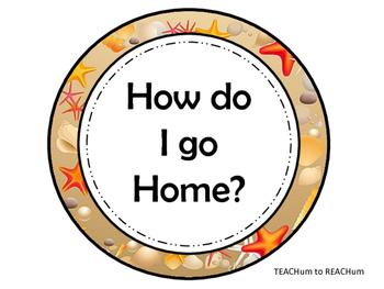 Transportation:  How do I go Home - Beach Theme