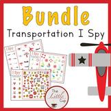 Transportation I Spy {Growing} Bundle