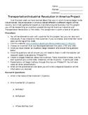 Transportation/Industrial Revolution Project