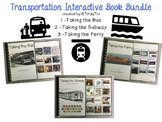 Transportation Interactive Book Bundle