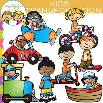 kids transportation clip art by whimsy clips teachers pay teachers rh teacherspayteachers com clip art used on teachers pay teachers clipart for teachers pay teachers
