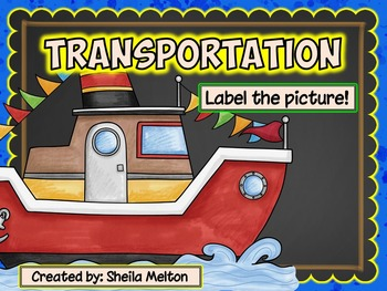 Transportation Label the Picture