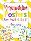 Transportation Labels {For Picture Frames}