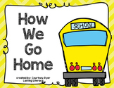 Transportation Labels- How We Go Home