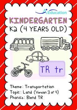 Transportation - Land (III): Blend TR - K2 (4 years old)